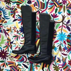 Charles David knee high leather boot